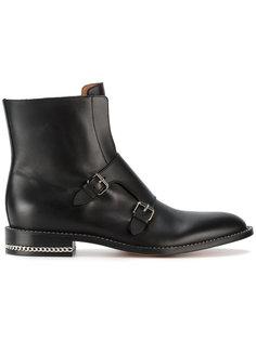 ботинки с цепочной отделкой Givenchy