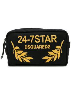 косметичка с вышивкой 24-7 Dsquared2