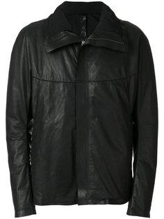 кожаная куртка с высоким воротником Isaac Sellam Experience