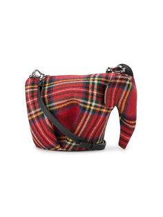 клетчатая сумка mini Elephant Loewe