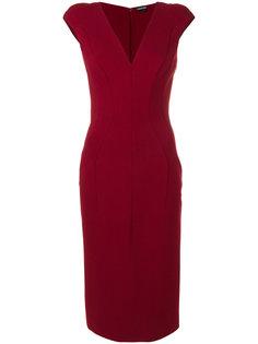 приталенное платье без рукавов  Tom Ford