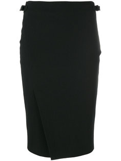 юбка с разрезом спереди Tom Ford