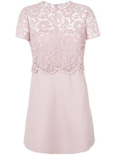 креповое платье  Valentino
