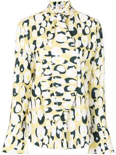 блузка с рисунком в виде яиц Ioana Ciolacu