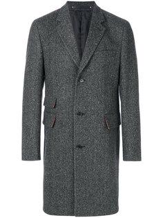 классическое однобортное пальто Paul Smith