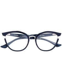 "очки с оправой ""бабочка"" Mikro Dita Eyewear"