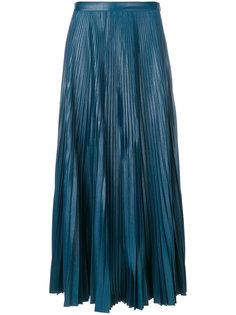 плиссированная юбка миди Golden Goose Deluxe Brand