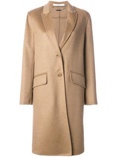 однобортное пальто  Givenchy