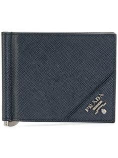 кошелек с зажимом  Prada