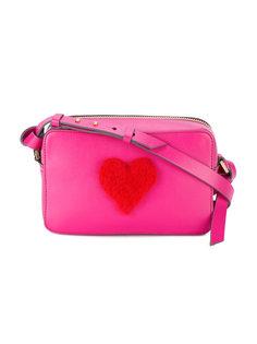 мини сумка через плечо с сердцем Anya Hindmarch