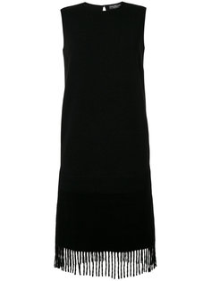 платье с бахромой на подоле Salvatore Ferragamo