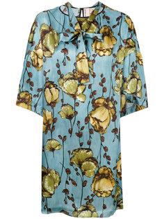 платье с цветочным рисунком Antonio Marras