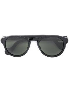 """солнцезащитные очки  с ооправой """"авиатор"""" Moncler Eyewear"""