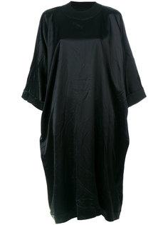 ниспадающее платье свободного кроя Maison Margiela