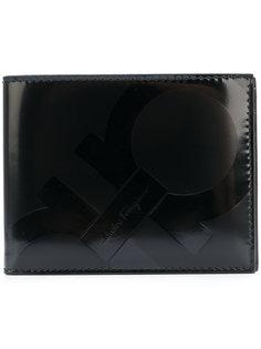 кошелек с тисненым логотипом Salvatore Ferragamo