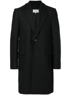 пальто с воротником в рубчик Maison Margiela