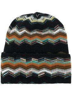 шапка-бини с узором Missoni