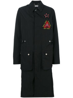 пальто в стиле милитари Givenchy