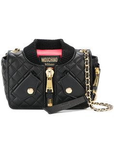 сумка на плечо в форме куртки Moschino