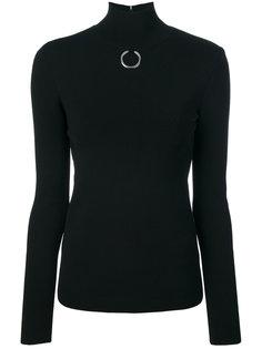 свитер с серебристым кольцом Stella McCartney