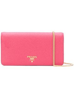 миниатюрная сумка-кошелек Prada