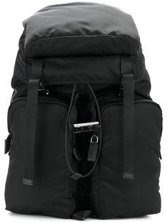 рюкзак с накладными карманами Prada