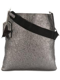 металлизированная сумка с подвеской-звездой Golden Goose Deluxe Brand