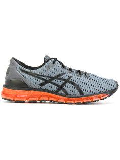 кроссовки на шнуровке с подошвой с неоновым эффектом Asics