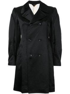 классические двубортное пальто Comme Des Garçons