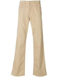слегка расклешенные джинсы Armani Jeans