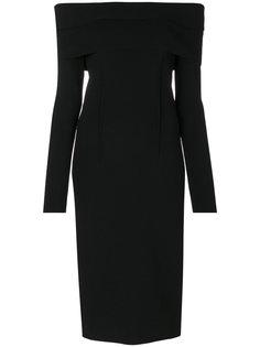 вечернее платье с открытыми плечами Tom Ford