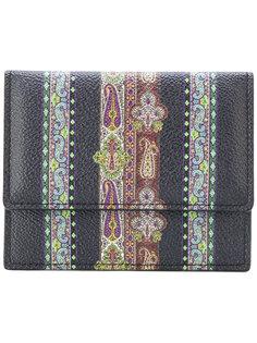 кошелек с вышивкой Etro
