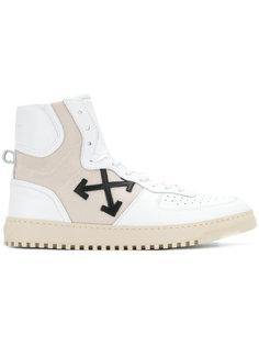 хайтопы с крестом Off-White