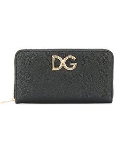 кошелек с фирменной бляшкой Dolce & Gabbana
