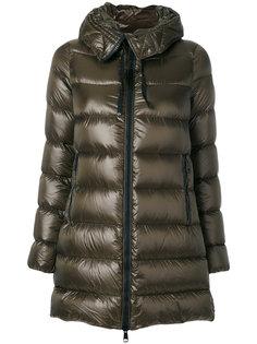 удлиненная дутая куртка Suyen Moncler