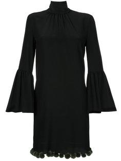 платье с рукавами-колокол Fendi