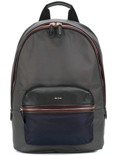 рюкзак с контрастной окантовкой Paul Smith