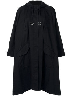 драпированное пальто свободного кроя T By Alexander Wang
