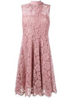 расклешенное кружевное платье Valentino