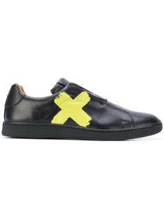 кроссовки с принтом креста Marc Jacobs