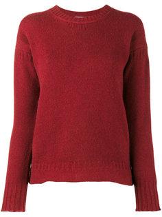 трикотажный свитер с ребристыми деталями Alexandra Golovanoff