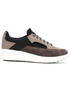 Мужские кроссовки с панельным дизайном Salvatore Ferragamo