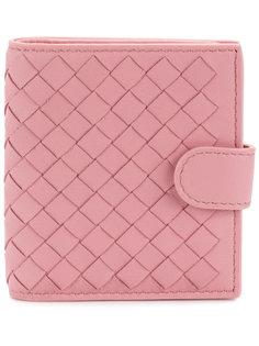 маленький кошелек с плетеным дизайном Bottega Veneta