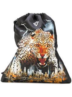 рюкзак с принтом леопарда Marcelo Burlon County Of Milan