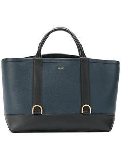 двухцветная сумка-тоут Sacai