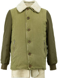 куртка с подкладкой из овчины Giorgio Brato
