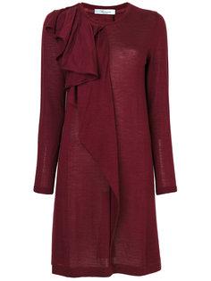 платье с оборками Blumarine