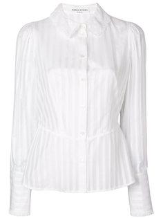 полупрозрачная рубашка с полосками Sonia Rykiel
