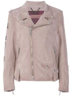 куртка со смещенной застежкой-молнией Golden Goose Deluxe Brand