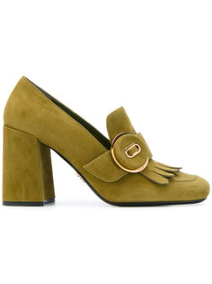туфли с бахромой Prada
